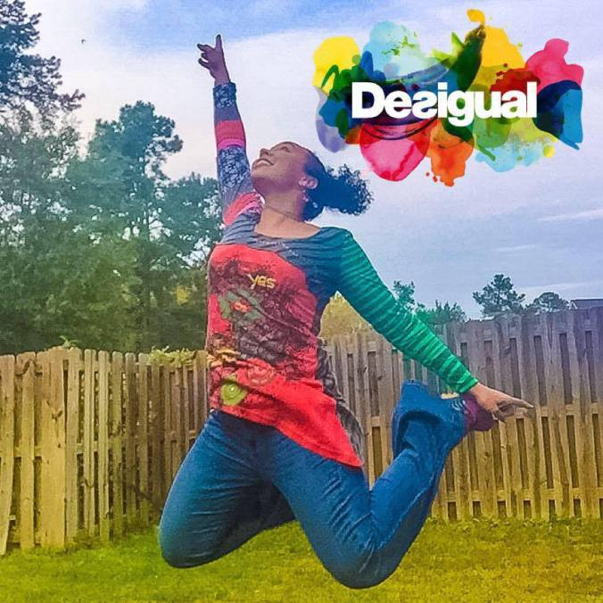 Made using Adictik in one of my favorite clothing brands, Desigual.